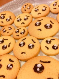 ぴえんクッキー焼いたぞ!!!