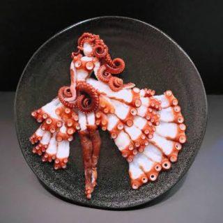 魚の切り身で芸術。その名も「刺し身アート」が話題に!