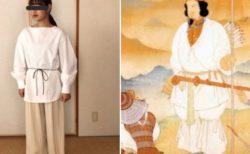 【笑】家にいたら90代のじいちゃんに神武天皇ファッションと指摘された・・・