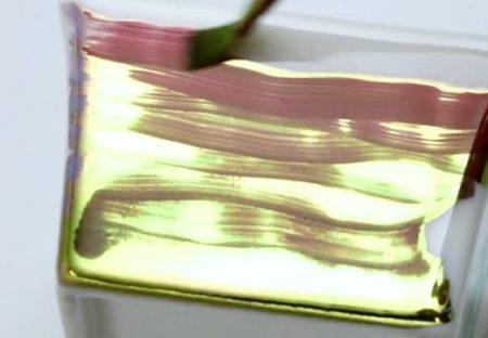 【技術】純度100%の『金』を液体に変化させた「金の塗料」がすごい