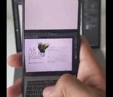 【AR】スマホでスキャンした「写真」がそのままデザインに。凄い技術!