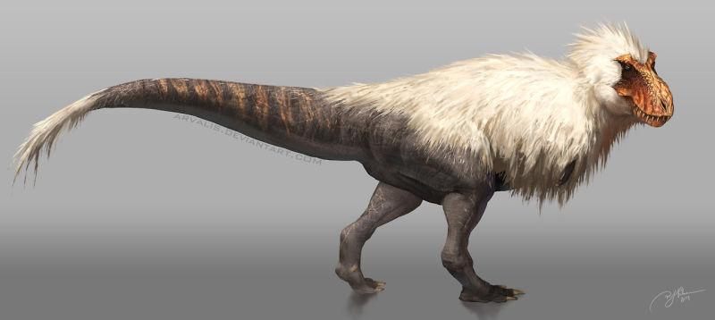 最新の「ティラノザウルス」の写真。全然別物になってる!