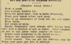 【約1世紀前】スペイン風邪のとき新聞に掲載された注意勧告が話題「今と同じだ‥」