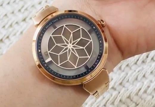 【刻々と】秒刻みで盤が変化する台湾の時計が話題「魔法陣みたい!」「すっごい綺麗‥」
