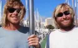 【すごい】2人のサーファー、仕事を辞め10年研究「海のごみを吸い込むバケツ」が完成