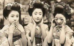 「見ざる、聞かざる‥」美しすぎる昔の日本女性、3枚の写真が話題