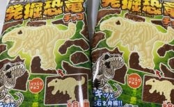 【お菓子】人気の「発掘恐竜チョコ」発掘されたシークレットが衝撃すぎて話題にw