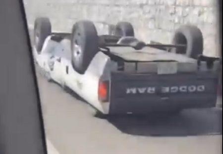 【動画】「さかさま?!」上下に車輪があり走行していく車が話題w