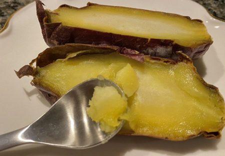 【ヘルシースイーツ】焼き芋を冷凍→半解凍で食べると‥激うま超濃厚アイスと話題に