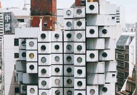 黒川紀章設計、世界初カプセル型集合住宅(竣工S47年)に住む人が!羨望の声が続々