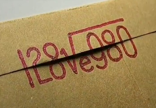 【ステキ】開くと「I Loveyou」になる方程式が話題