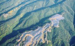 【衝撃画像】山を切り開いてメガソーラー。空から見た写真が話題に「悲しい・・・」