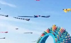 【CGみたい】ステキすぎるデンマークの凧揚げが話題に