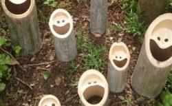 【すごい】見ているだけで笑顔になる「笑う竹の集団」が話題