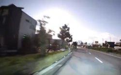 【動画】隕石?!深夜に落下した瞬間が衝撃的!西日本で目撃者多数!