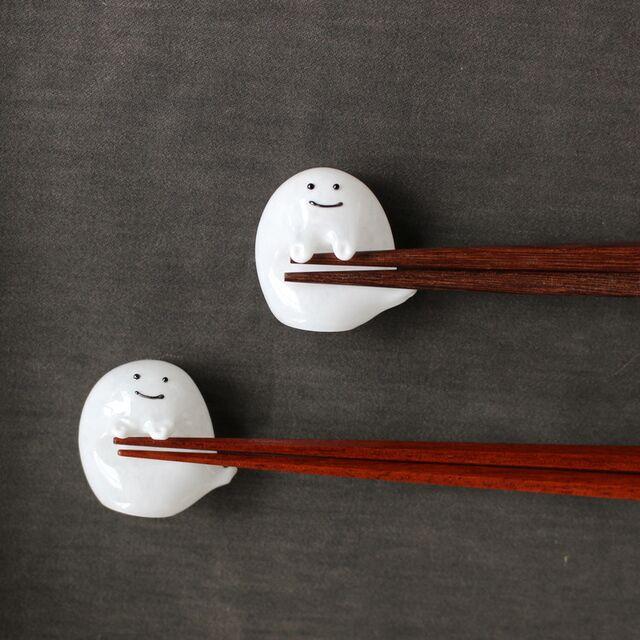 【ふるさと納税】おばけの箸置きが可愛すぎてネット民昇天! これはぜひ手に入れたい
