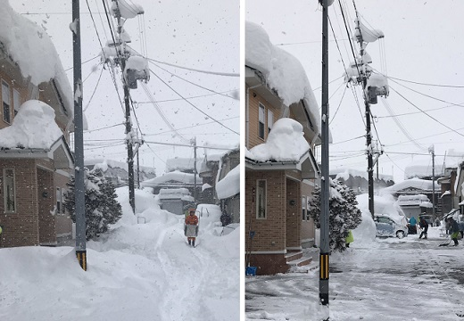 【1時間で】大雪への備えがばっちりな自治体、流雪溝の活躍にネット騒然!
