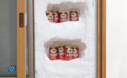 【記録的大雪】窓を開けたら‥手作り天然冷蔵庫が話題にw