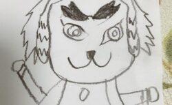 【鬼滅の刃】7才の子供が描いた『富岡義勇』と『煉獄杏寿郎』が可愛すぎてほっこり(・∀・)