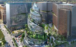 【画像】米Amazon、第2本社がバベルの塔の様だと話題に