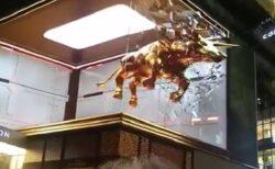 【動画】マレーシア:最新の3D野外広告が話題に「すごい迫力!」