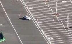 【神業】築地市場跡地で撮影されたパトカーの訓練風景にネット騒然!「上手すぎ・・」