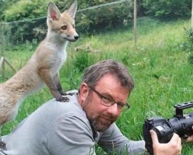 【動画】海外のカメラマンに寄ってきてしまう野生動物たち、可愛すぎる