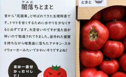 【天才】実は甘いのに見た目が悪く廃棄されてきたトマト。「闇落ちとまと」として売ったら爆売れw