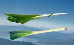 【w】NASAが開発中の超音速旅客機が話題に「ネギにしか見えない・・」