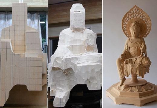 【貴重】仏様の製造過程、すごすぎてネット騒然