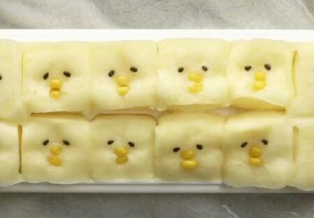 【目からうろこ】HMと製氷皿で作ったひよこの蒸しパンが話題に「カワイイw」