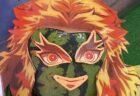 【爆笑】「煉獄さんに扮した高級スイカ」ぎょっとする写真が話題に