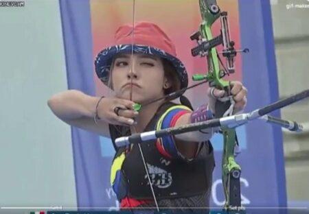 【動画】コロンビアのアーチェリー女子選手が話題に「超絶美女すぎてヤバい」