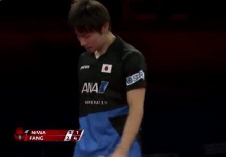 【8/11出場】卓球界有数のイケメン、丹羽孝希選手。天才すぎるプレイ動画が話題に