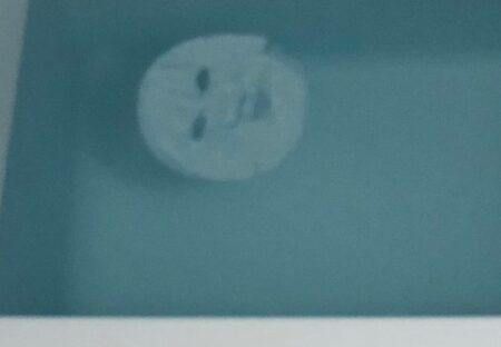 【爆笑】浴槽に浮かぶシートマスク・・衝撃的すぎる写真が話題にw