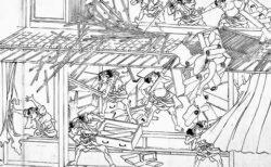 【w】「お米の転売で稼いでいた商人の家」激しすぎる江戸時代の絵が話題に
