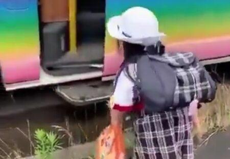 【動画】送迎バスに乗る園児、礼儀正しく可愛いらしい姿が話題に