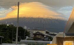 【凄い】衝撃的な富士山の写真が話題に「竜の巣?!」
