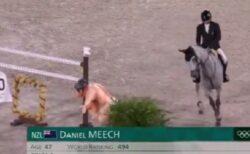 【w】お相撲さんの人形を前にした馬のリアクションが話題に「めちゃくちゃ可愛いw」