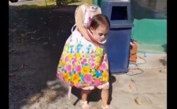 【怖っ】クオリティが高すぎる少女の仮装が話題に「出会ったら絶叫する!」